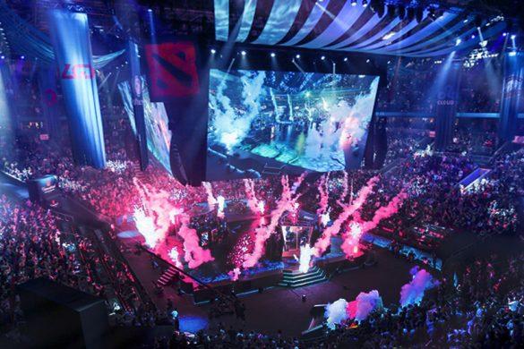 Dota 2 The International Stage