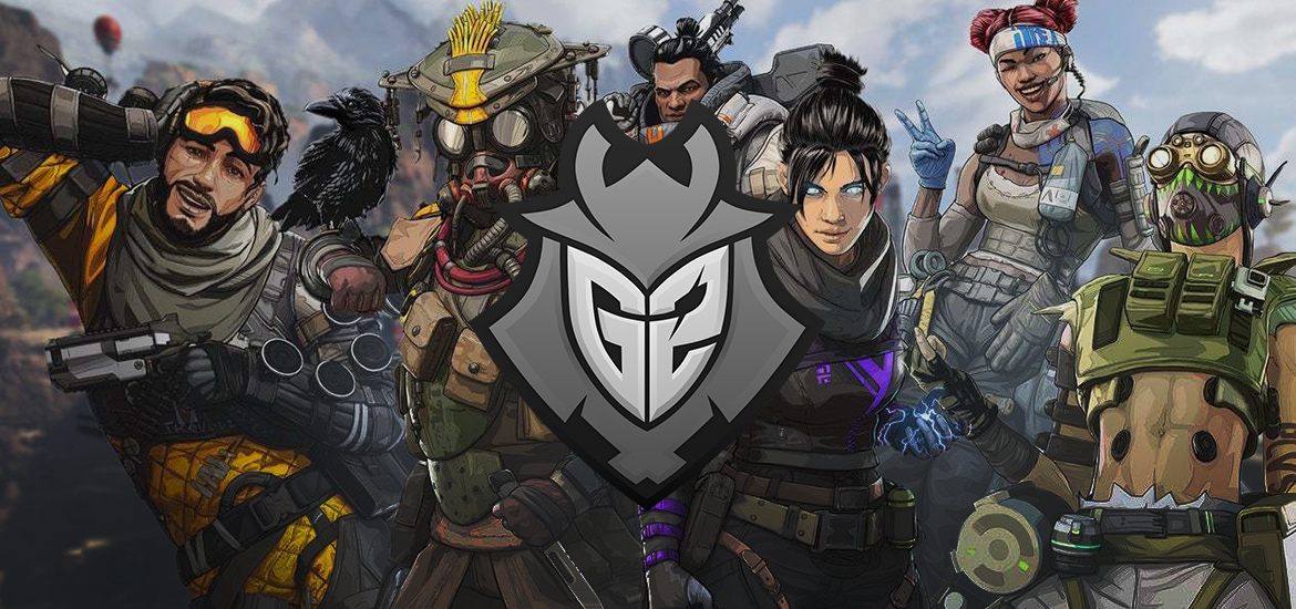 G2 Esports logo with Apex Legends