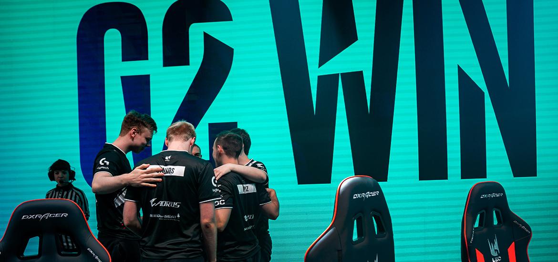G2 celebrate their win