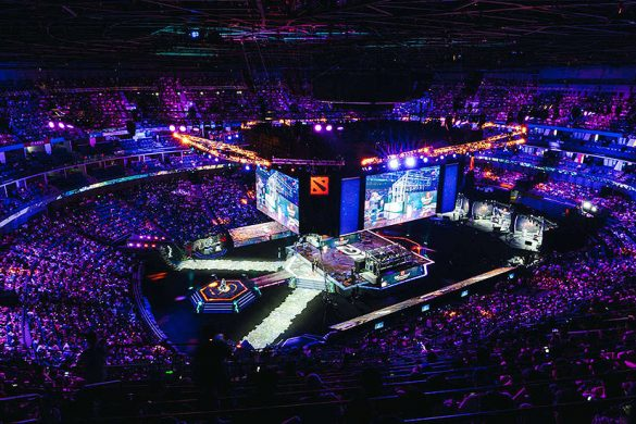 The International 2019 stage