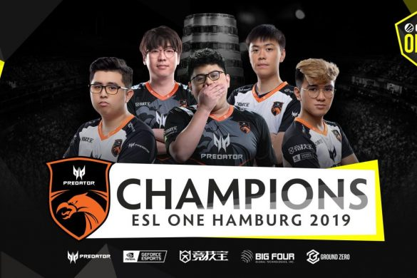 TNC Predator were victorious after an exciting ESL One Hamburg event