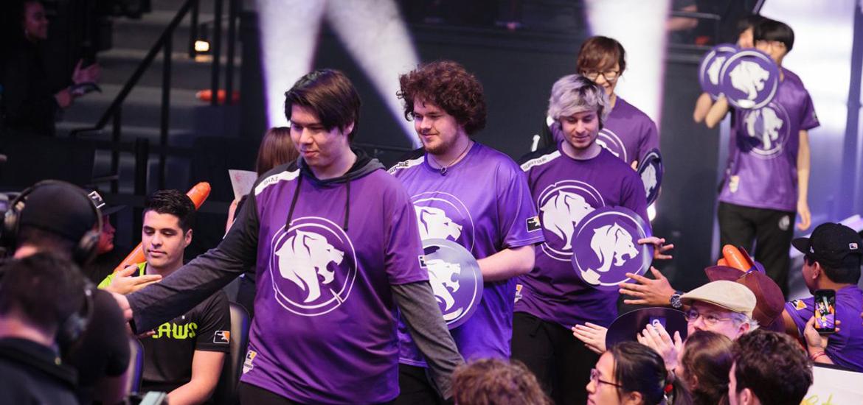 LA Gladiators Victory Walk