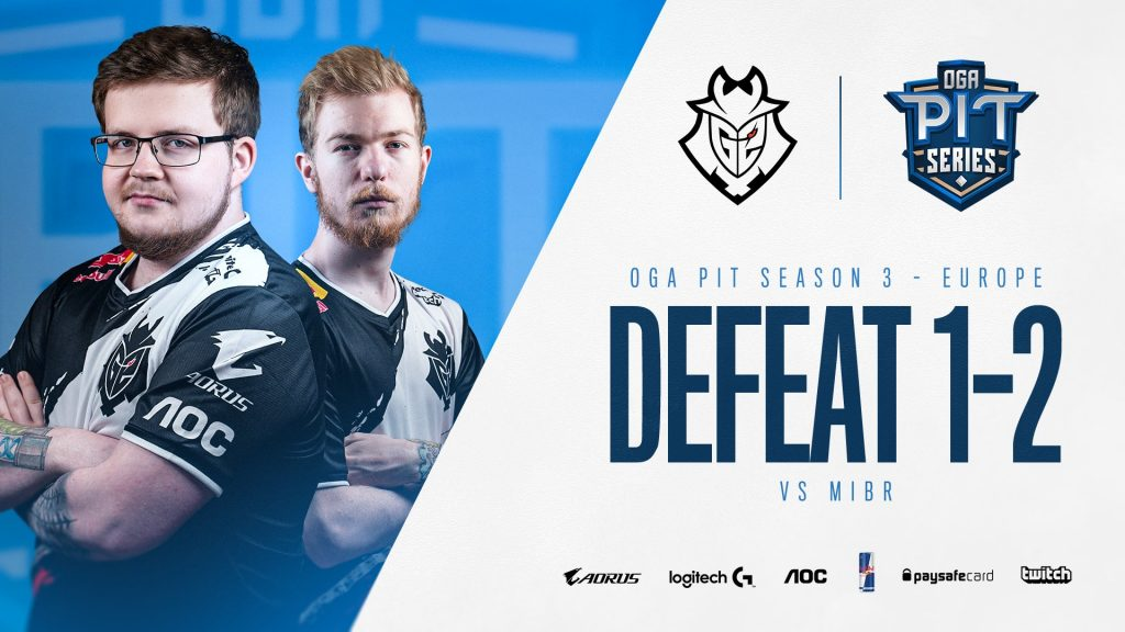 MIBR upset G2 in convincing fashion at OGA Pit Season 3