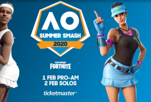 Fortnite Summer Smash 2020 AO Melbourne Park
