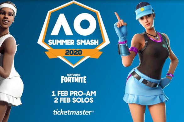 Fortnite Summer Smash 2020 AO Melbourne Park