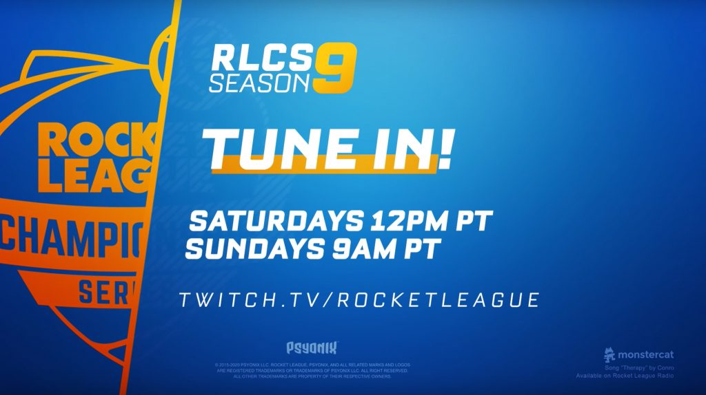 RLCS Season 9 Schedule and How To Watch