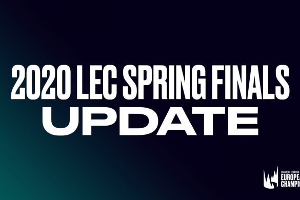 The LEC Spring Finals have been moved in light of concerns over the spread of coronavirus