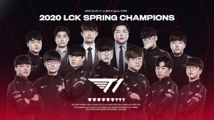 T1 are the LCK 2020 Spring Finals Champions