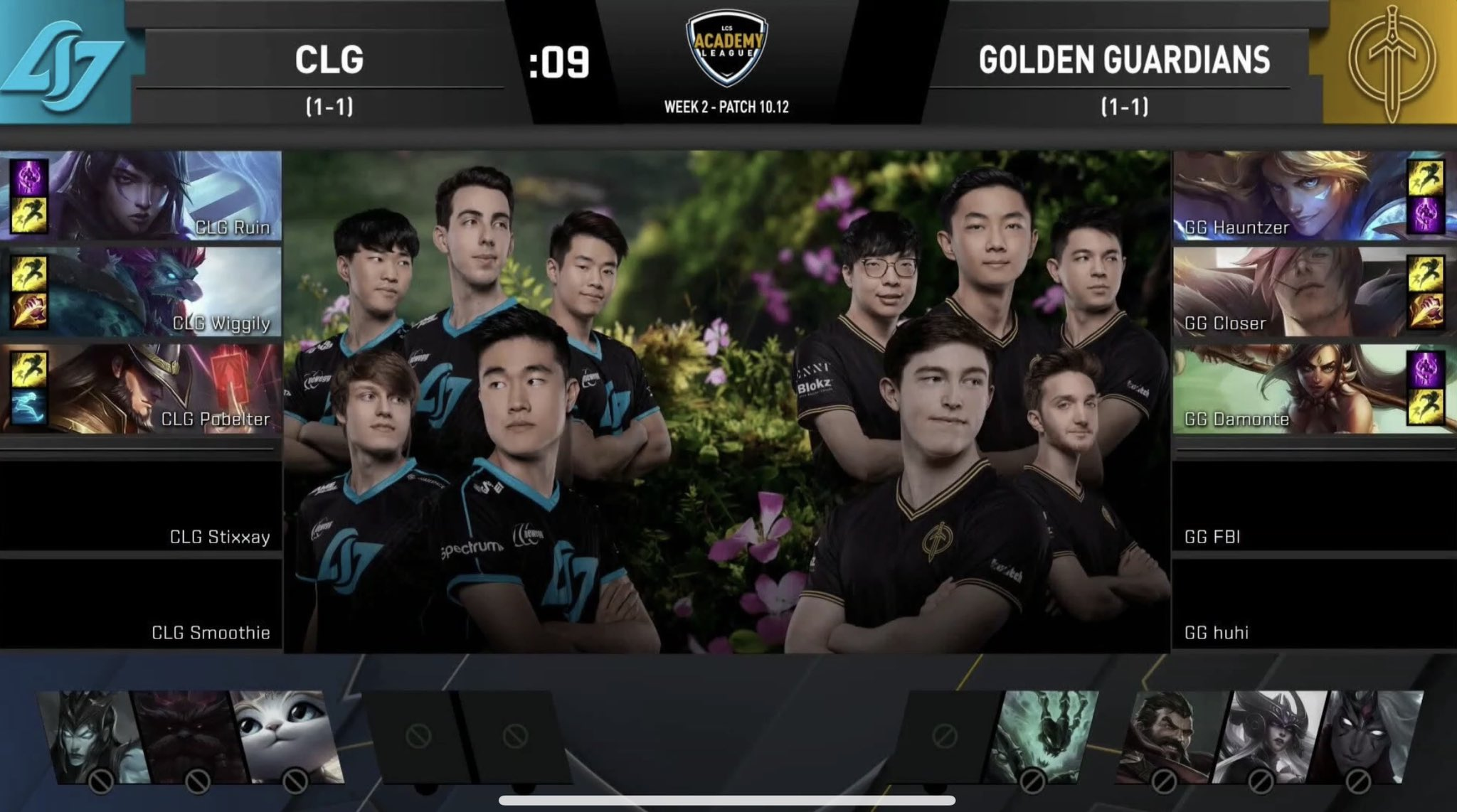 The LCS production has had a sharp drop in quality, including the wrong teams being shown in graphics...