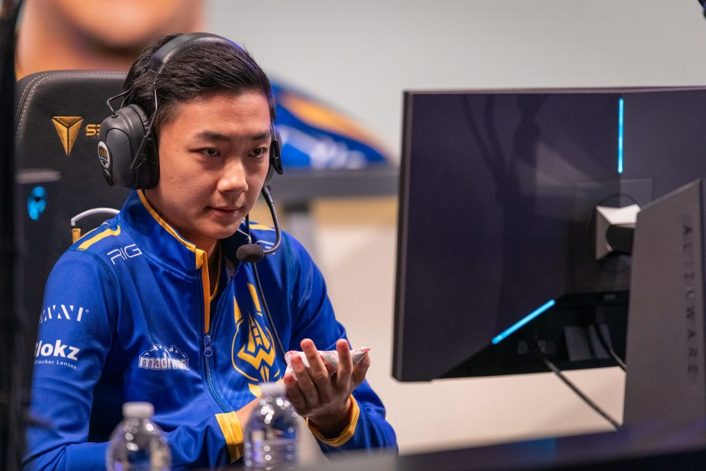 Golden Guardians stunned TSM with a dramatic 3-0 victory, and FBI, pictured, was at the core of that victory.