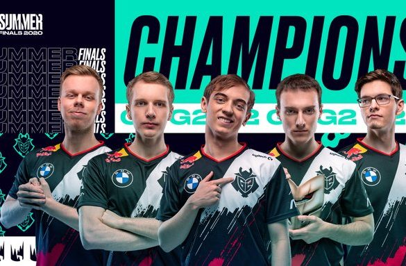 G2 are the LEC 2020 champions for a second time, after becoming the Summer Champions