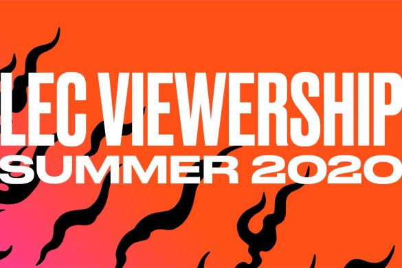 The LEC reported Record Viewership during the Summer Split